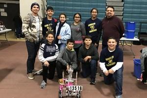 Bell League Team (CyberCavs#2) - Currently 2nd Rank Position Overall for BELL League Joaquin Alvarez (8th Grade), Alberto Montes (8th Grade), Kayla Del Angel (8th Grade), Nyleen Canizalez (8th Grade), Gabriel Salinas (7th Grade), Julie Rodriguez (7th Grade), Ian Mata Arteaga (7th Grade) and Arely Espinoza (7th Grade).