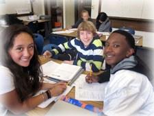 junior high math students