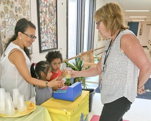teacher purchasing lemonade