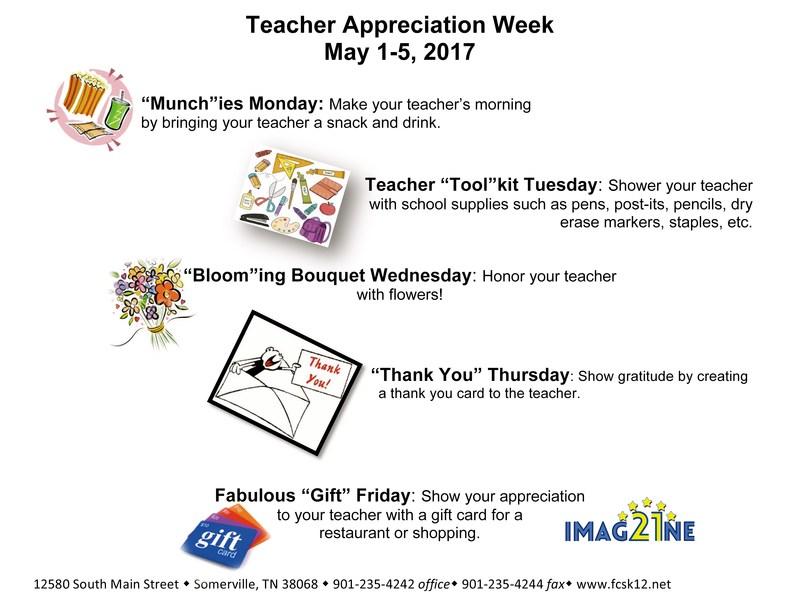 Teacher Appreciation Week 2017 Thumbnail Image