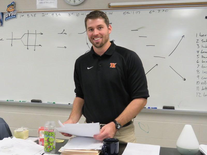 TKHS science teacher Jeff Dock has been named the new TKHS varsity football coach.