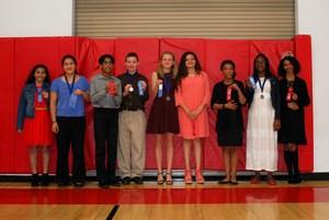 middle school speech meet participants