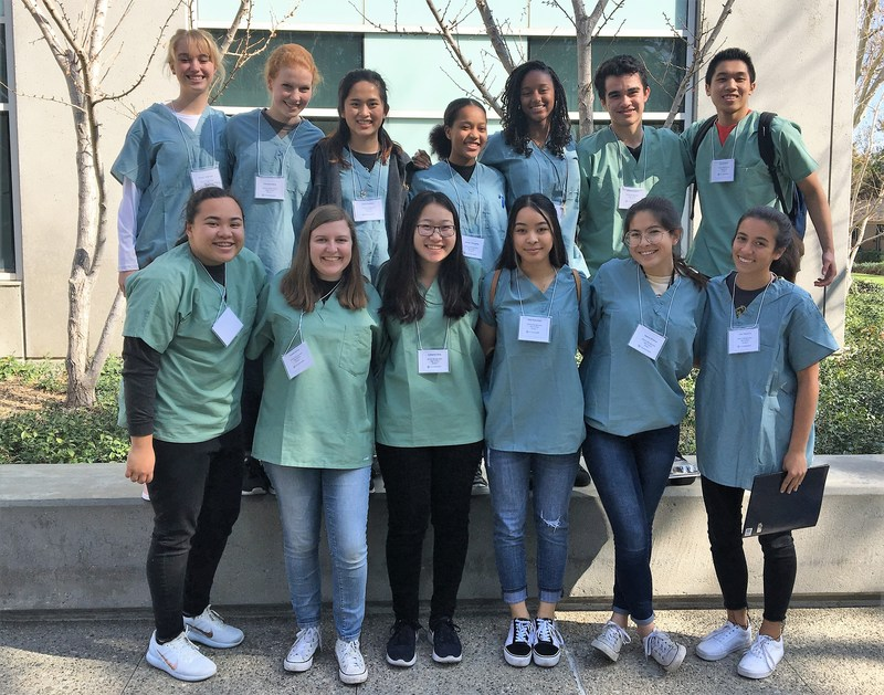 Students Participate in Medical Program at UCI Thumbnail Image
