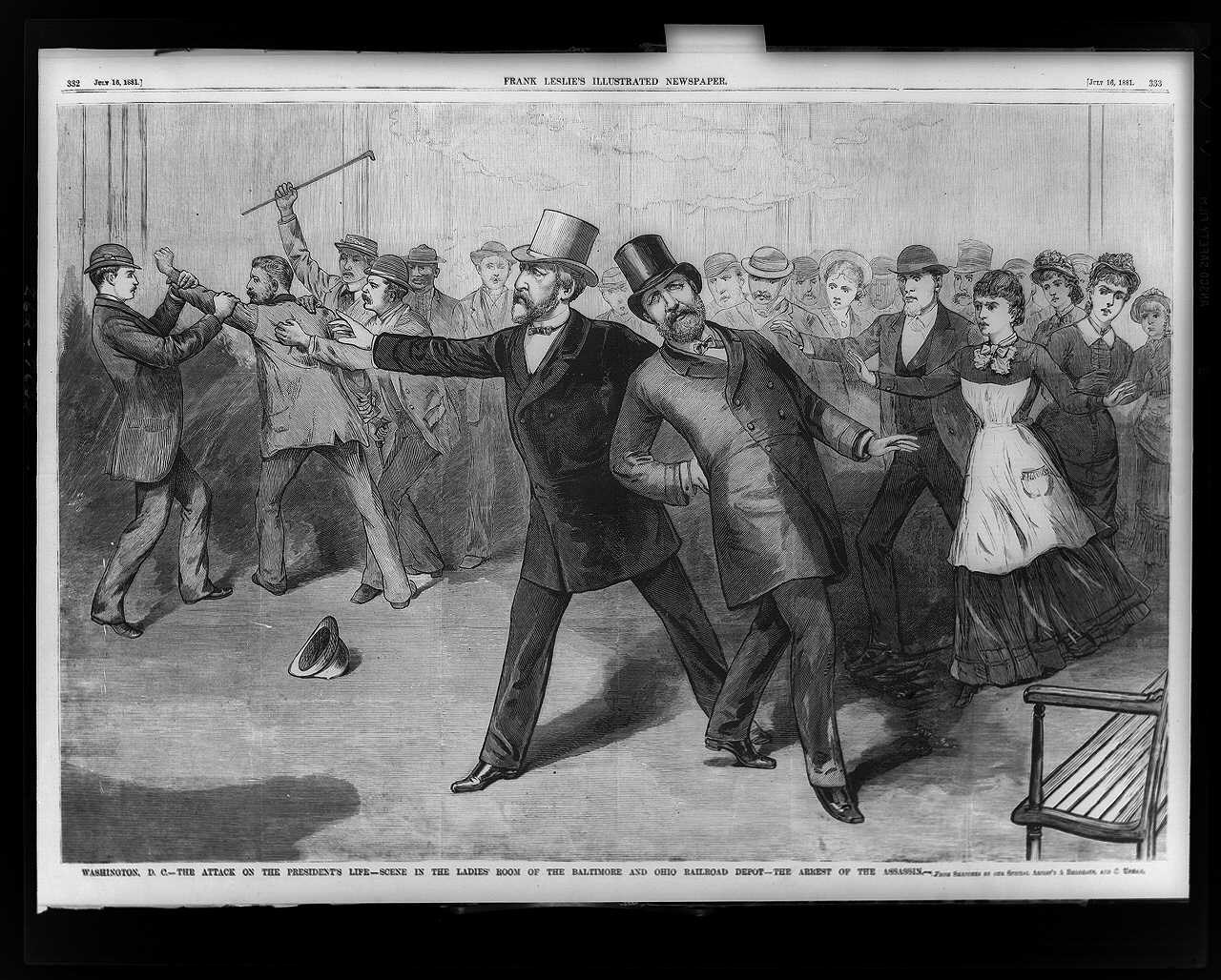 Assassination of President Garfield