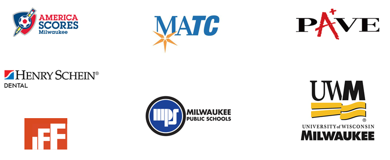 America Scrores Milwaukee, MATC, PAVE, Henry Schein Dentistry, IFF, MPS, and UW-M