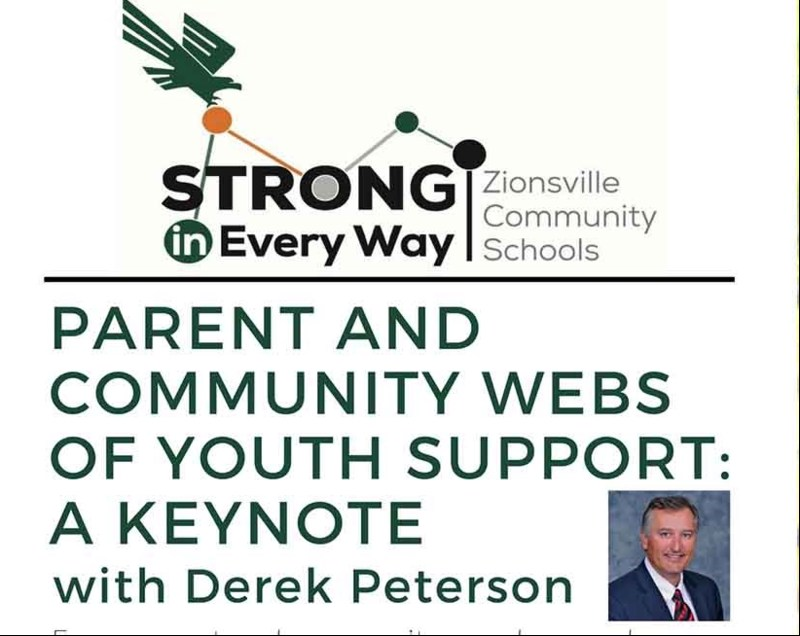 Parent & Community Webs of Youth Support: A Keynote with Derek Peterson Thumbnail Image