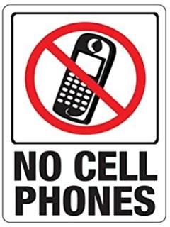 No cellphone Image