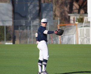 PJ baseball Mike Bello practice picture