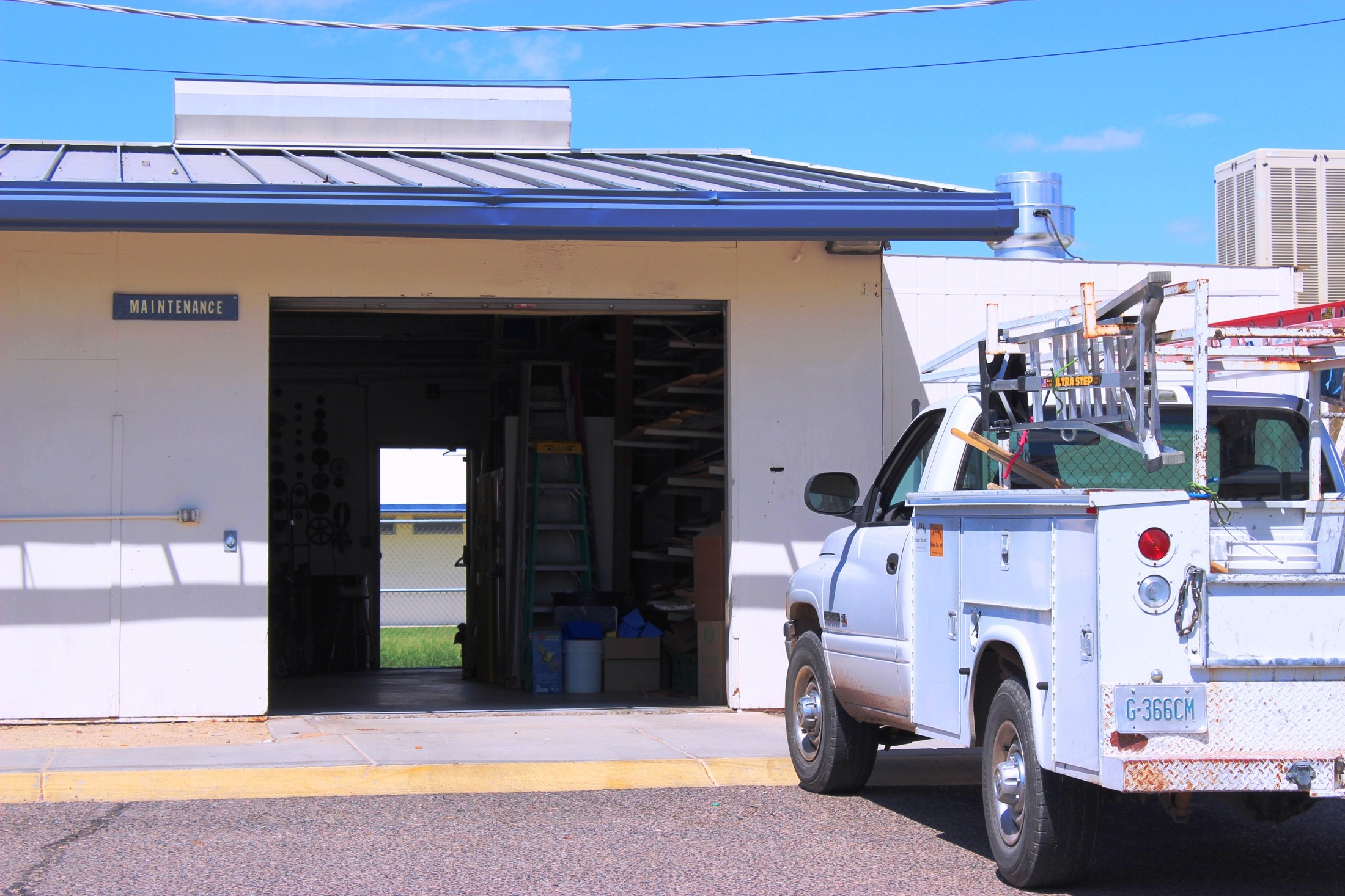 PUSD Maintenance shop