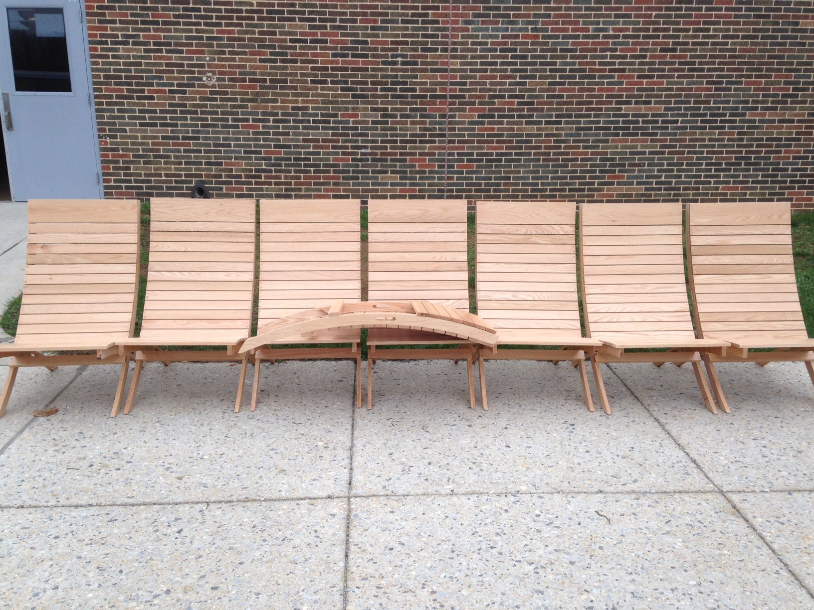 Beach Chairs-Wood Manufacturing