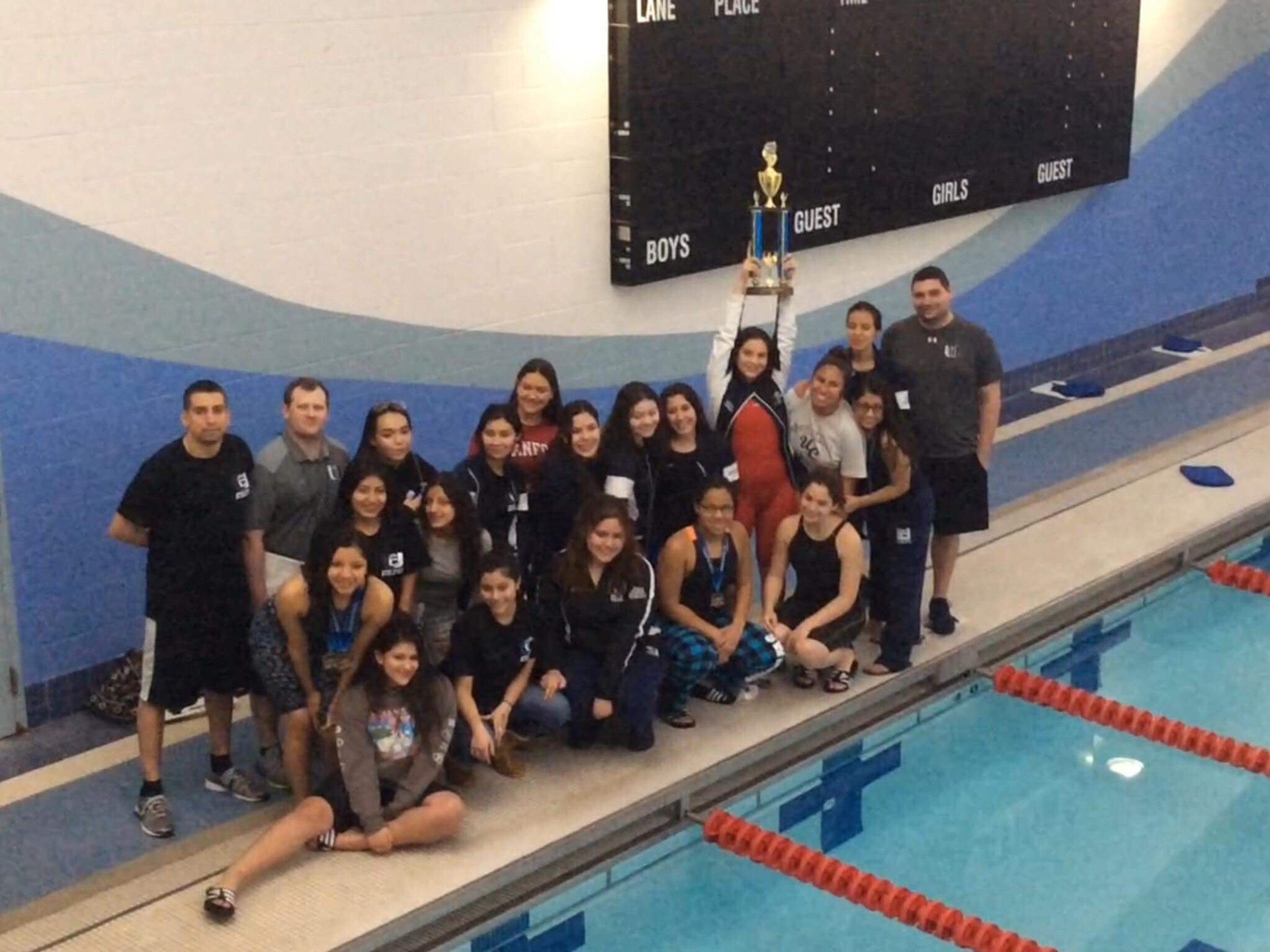 Swimming girls athletics union city high school - West mesa high school swimming pool ...