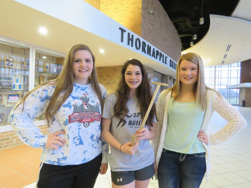 Three TKHS students made and donated wooden toys to Grand Rapids Children's Museum.