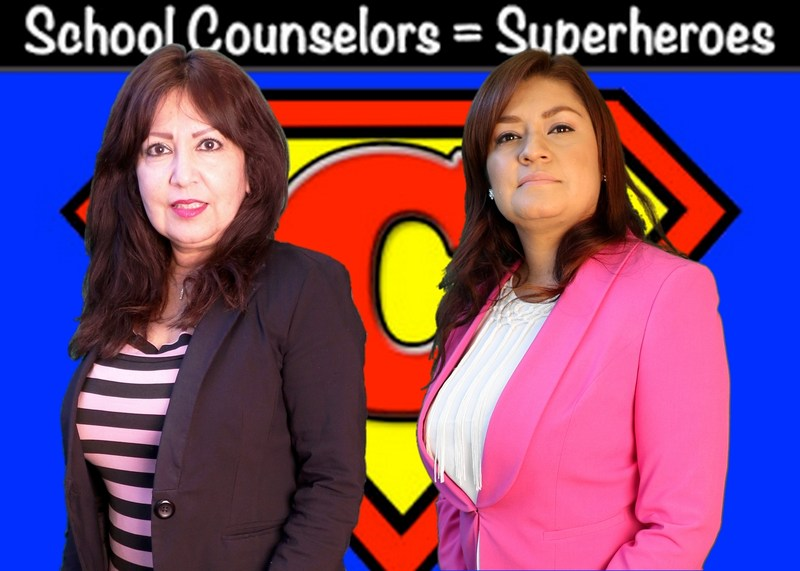 Happy Counselors week to Mrs. D. Martinez and Mrs. Y. Gomez. Thumbnail Image