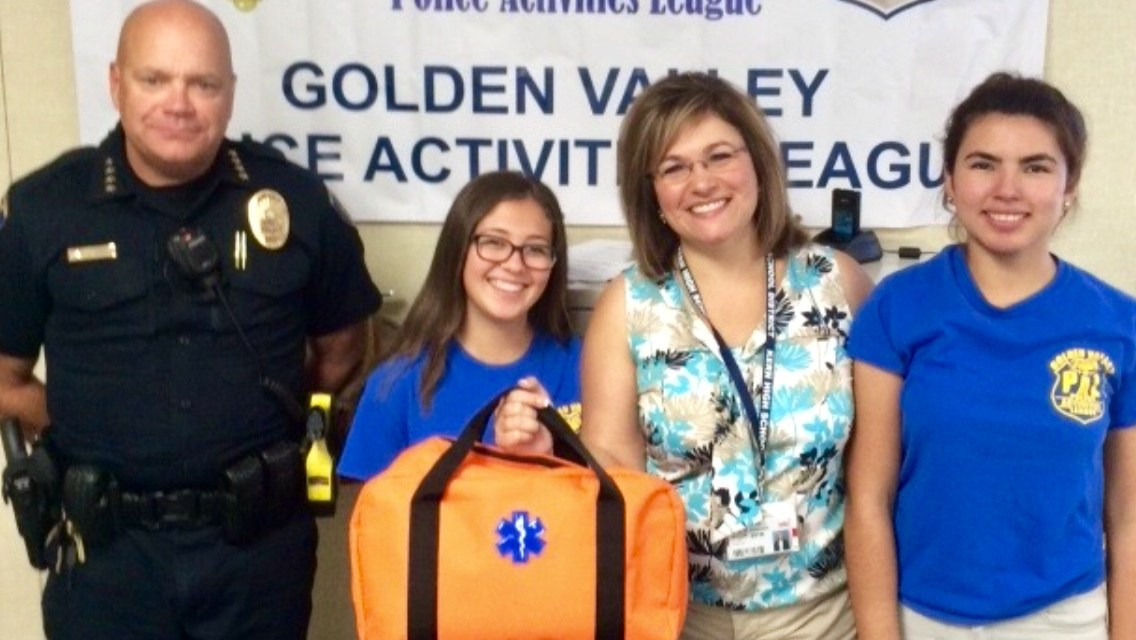 First Aid donation to KHSD PAL
