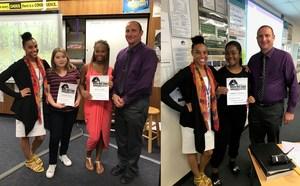 Raven Award winners