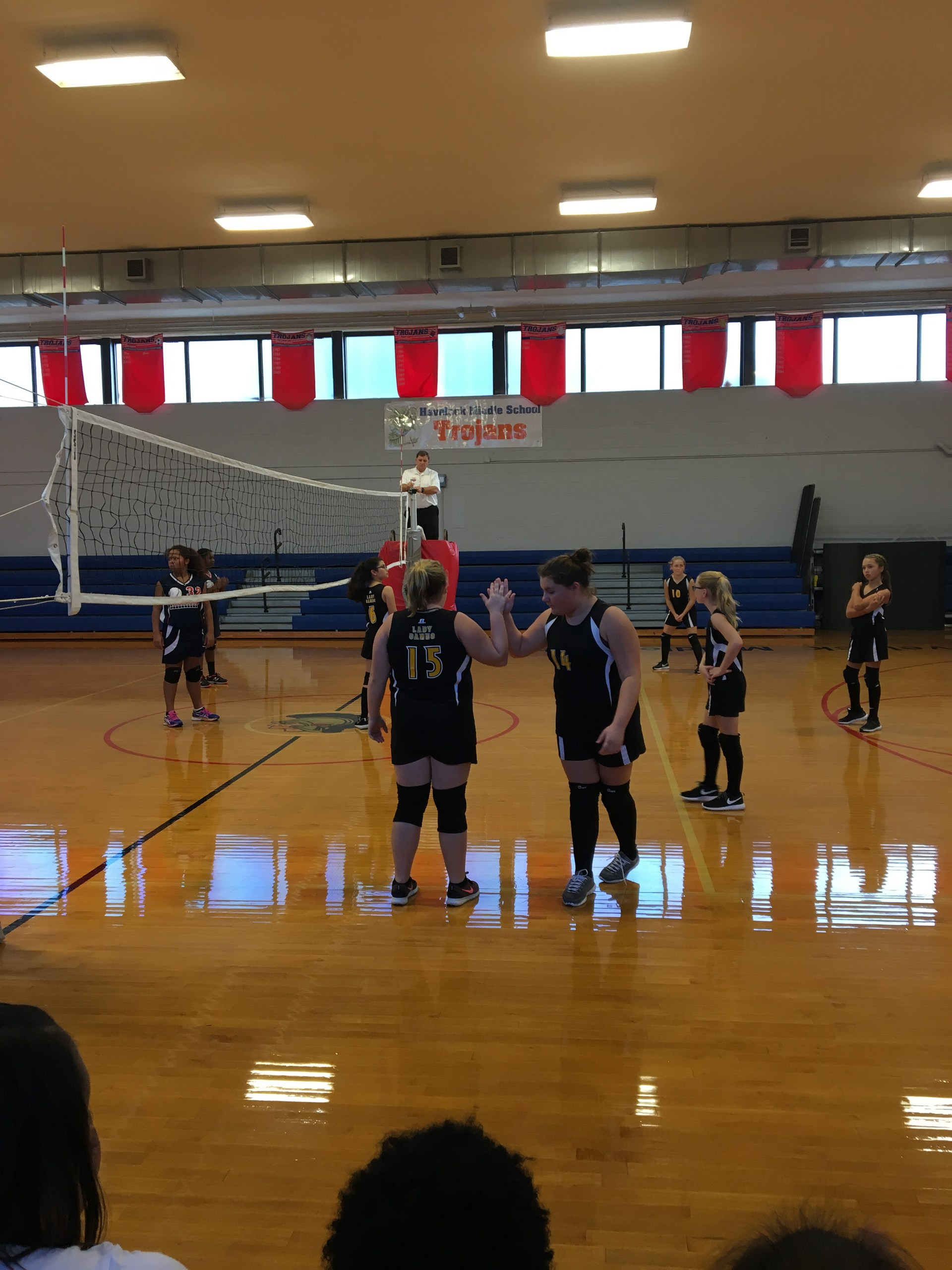 volleyball vs havelock