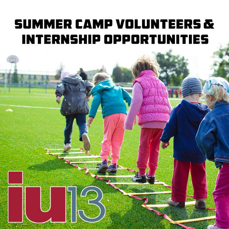 2018 IU13 Summer Volunteer and Internship Opportunities Thumbnail Image