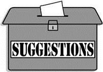 Suggestions? Click the link below to send a suggestion