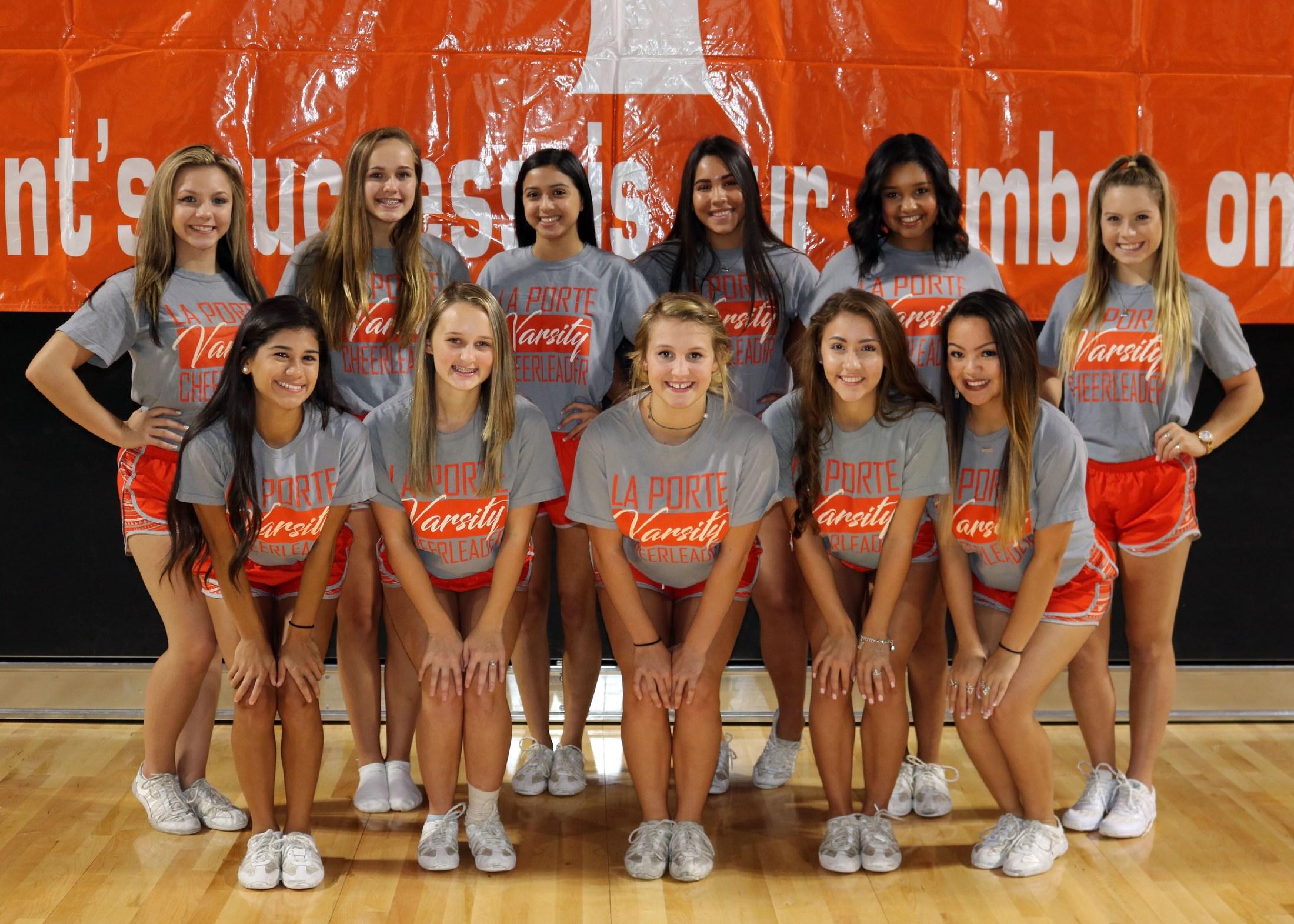 lphs varsity cheerleaders cheerleaders la porte high school