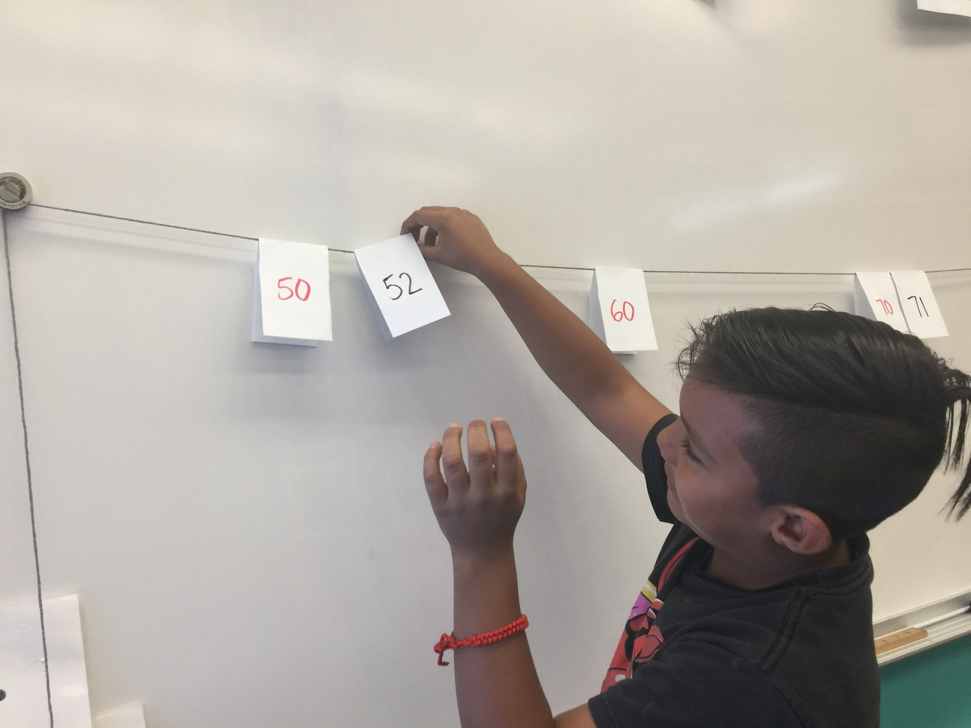 Place Value Clothesline Math