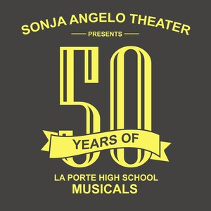 Sonja Angelo Theater 50 years of Musicals logo