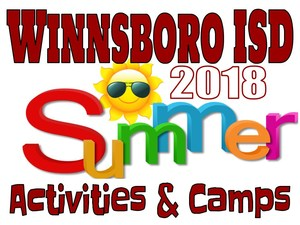 2018 Summer camps and activities