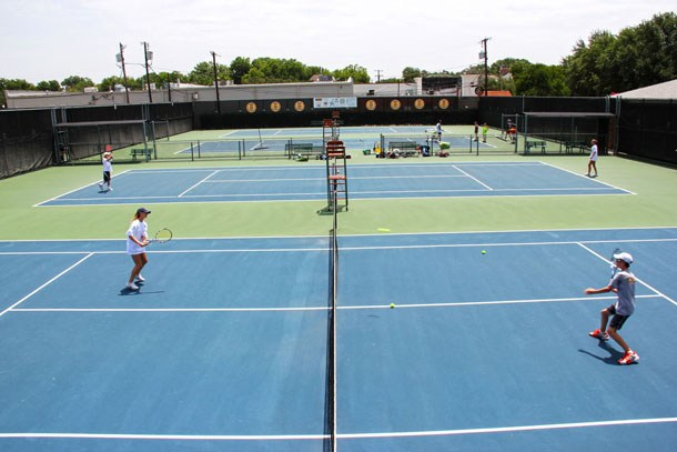 Outdoor Tennis Center