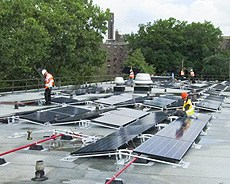 Frampton Hall Solar Panel Project
