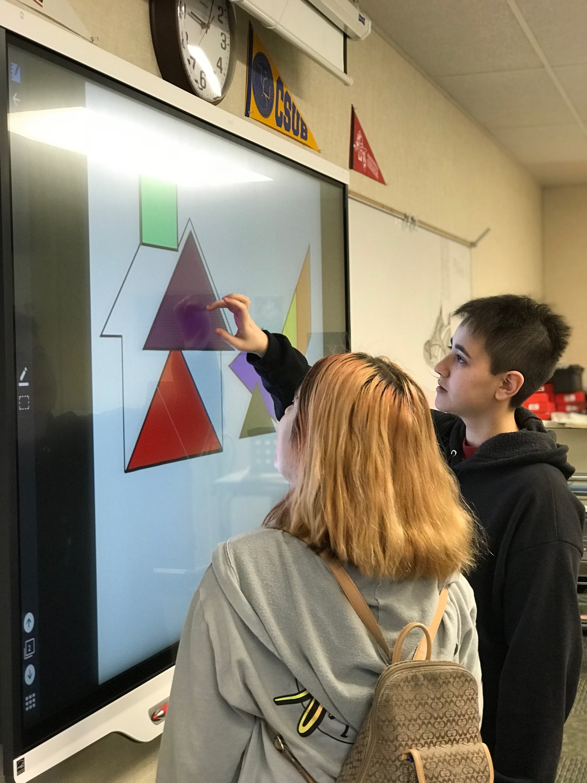 Students and Smartboard