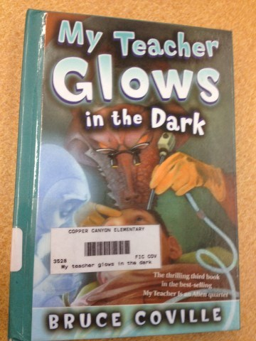 My Teacher Glows in the Dark Book