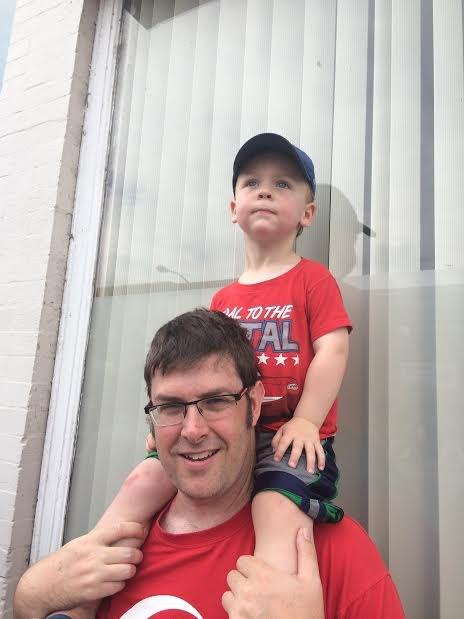My nephew and me.