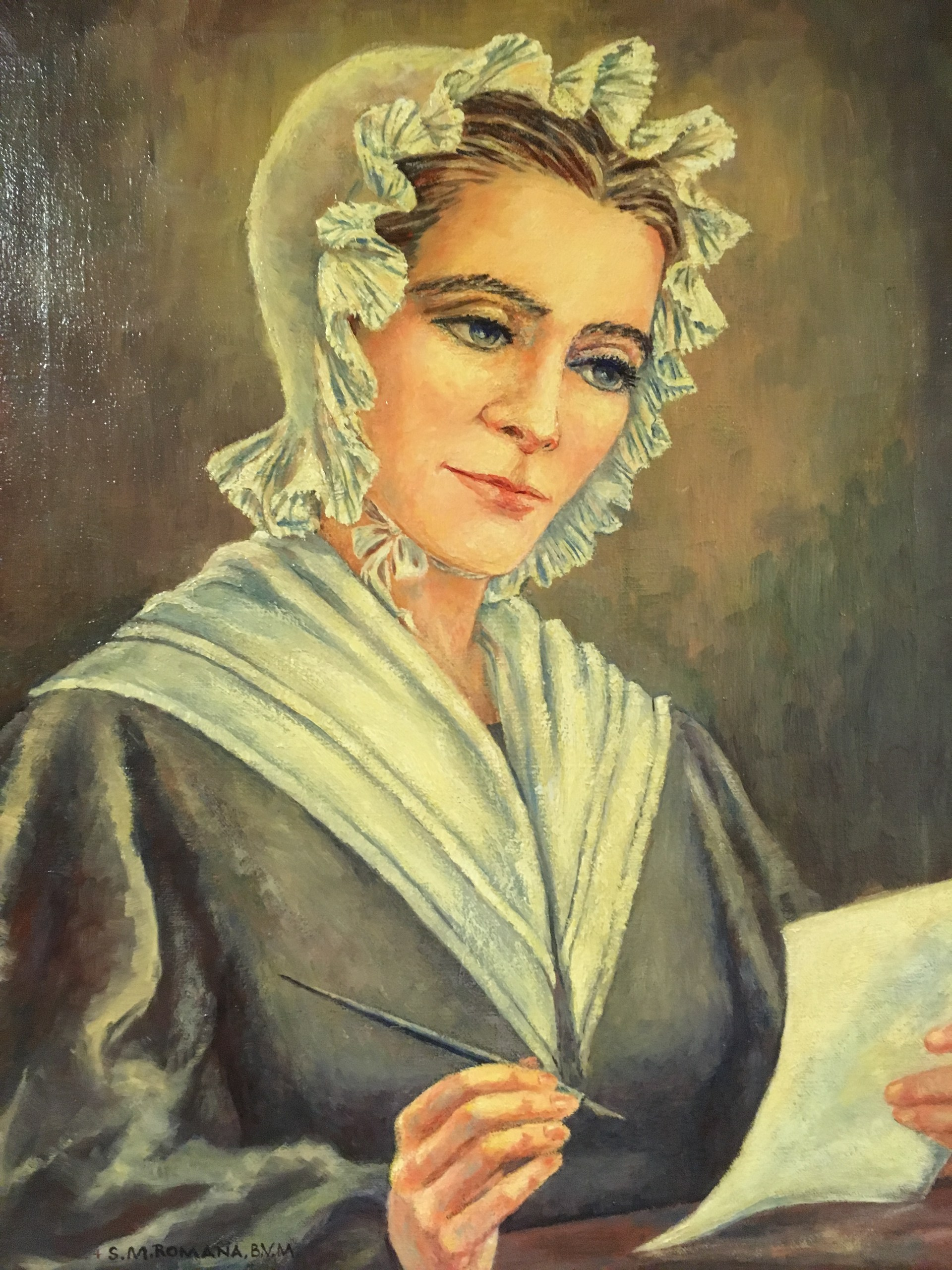 Mary Frances Clarke - Foundress of the Sisters of Charity of the Blessed Virgin Mary