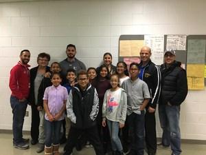Edison School Science Fair Team