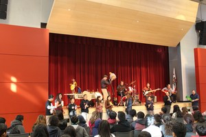 The Philharmonic Performs with Johnson Students