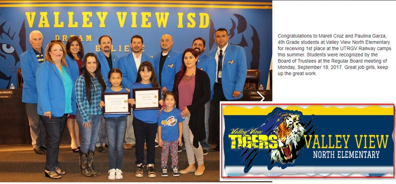 North Elementary students Recognized at School Board Meeting. Thumbnail Image