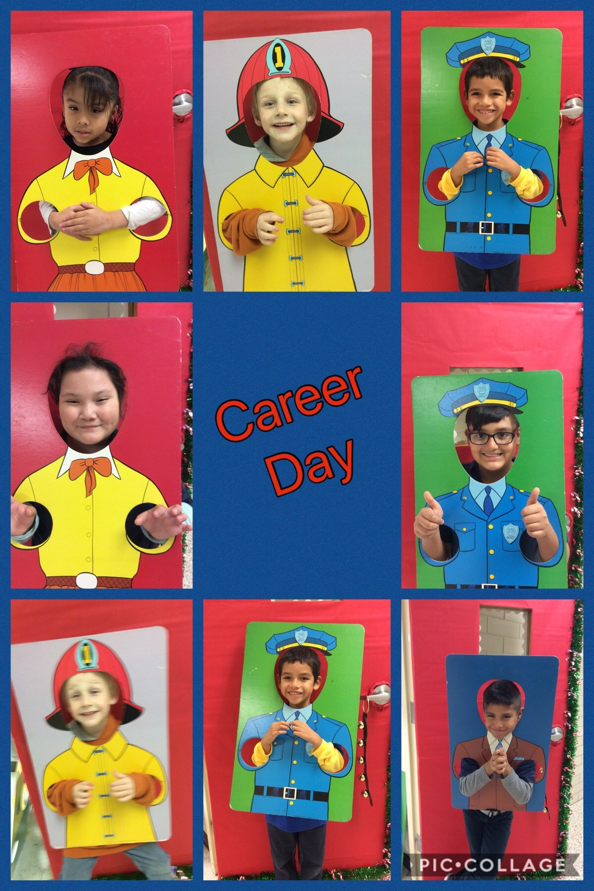 Students participate in career day