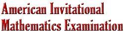 American Invitational Math Exam.jpg