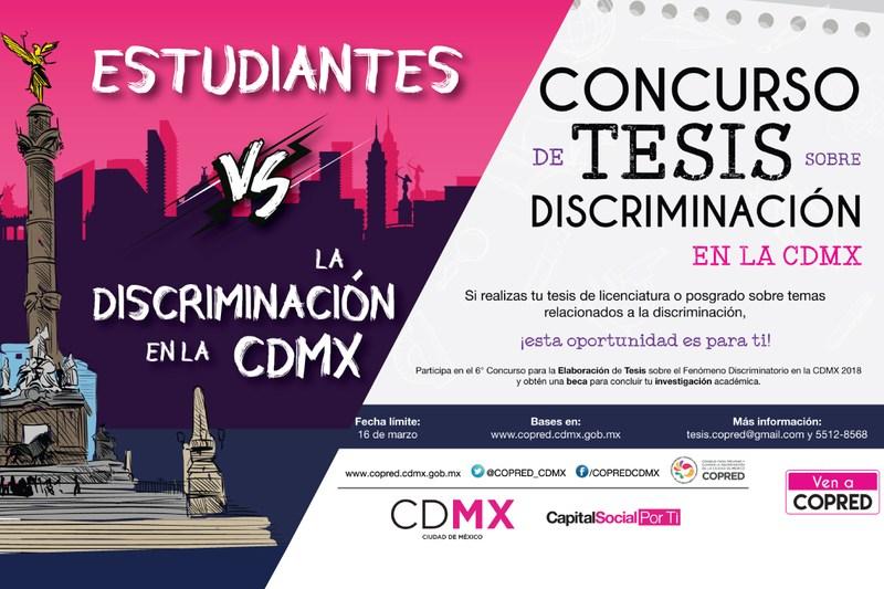 Concurso Tesis sobre Discriminación Featured Photo