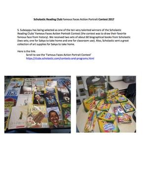 Scholastic Reading Club Famous Faces Drawing Contest 2017 Description .jpg