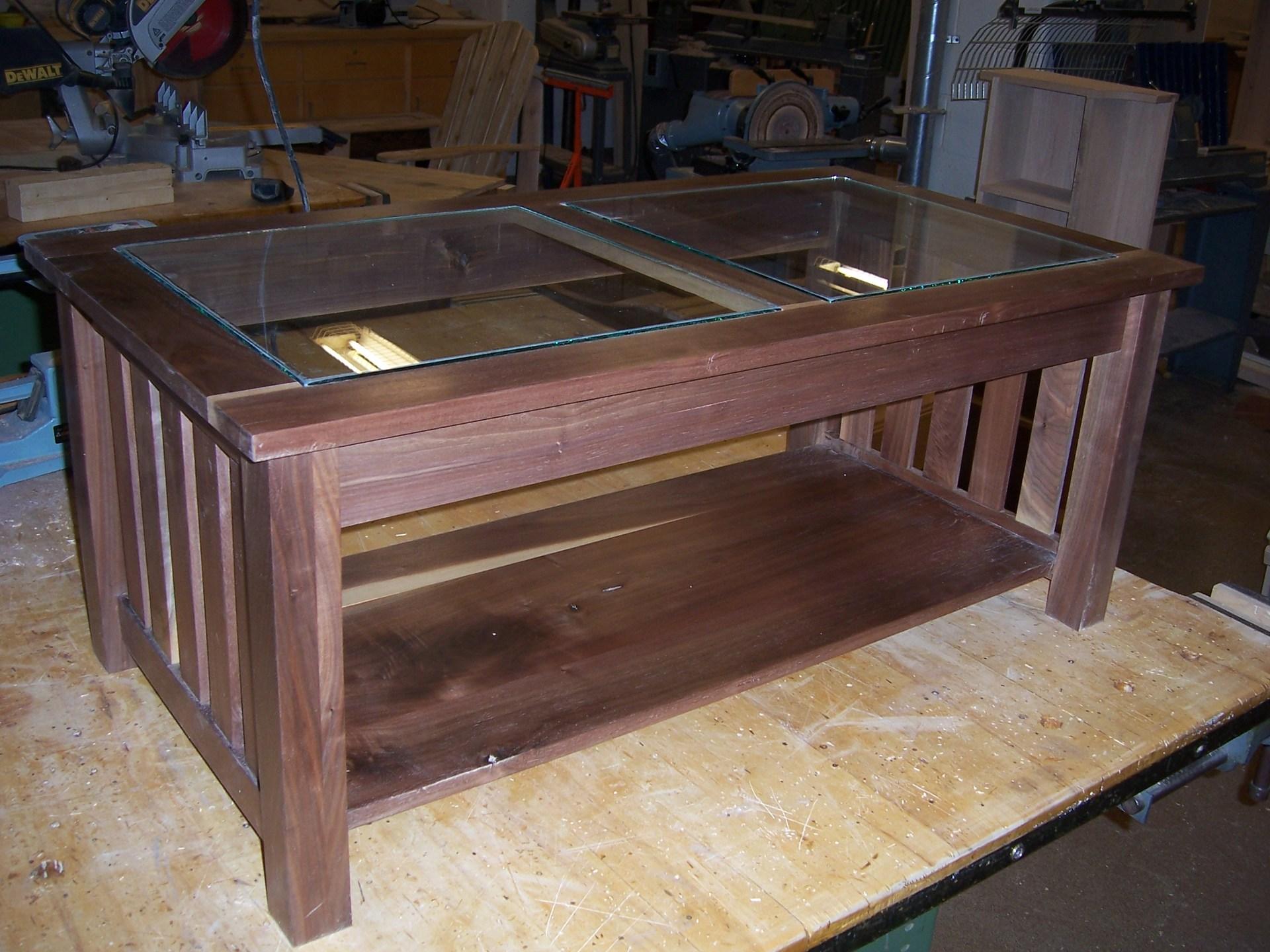 Coffee Table-Wood Tech