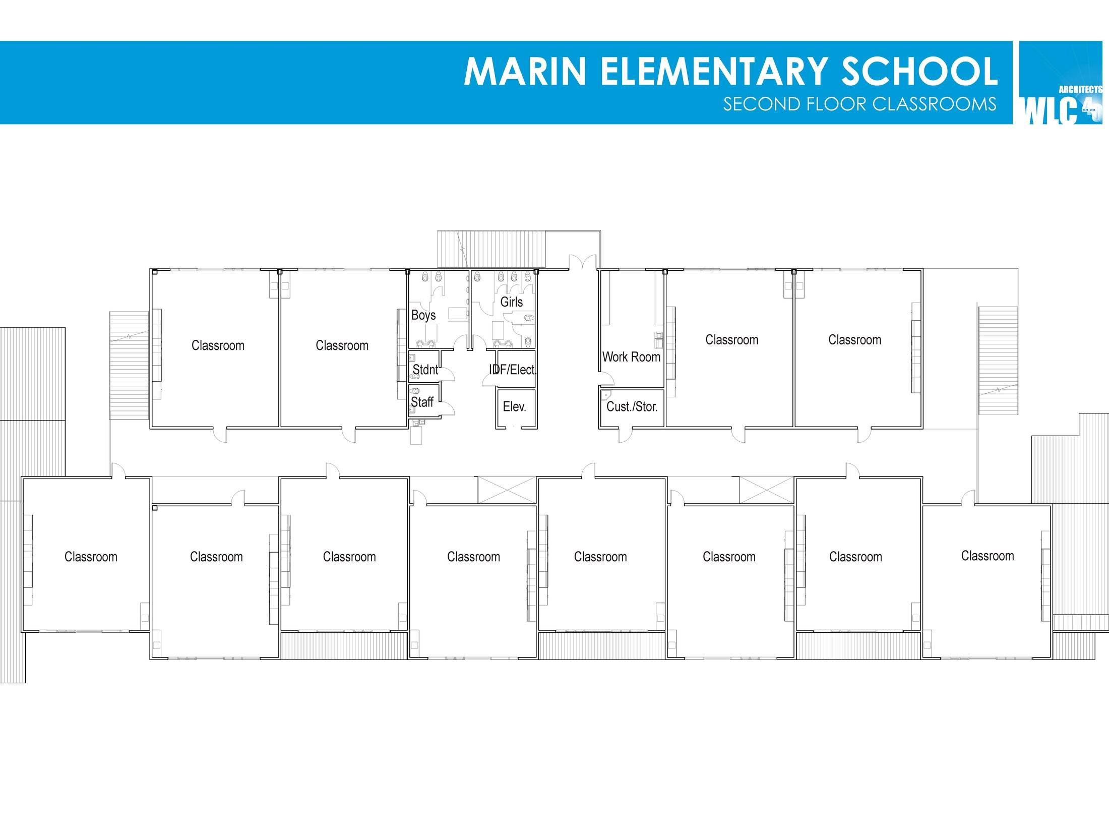 design: marin elementary school rebuild – bond: school improvement