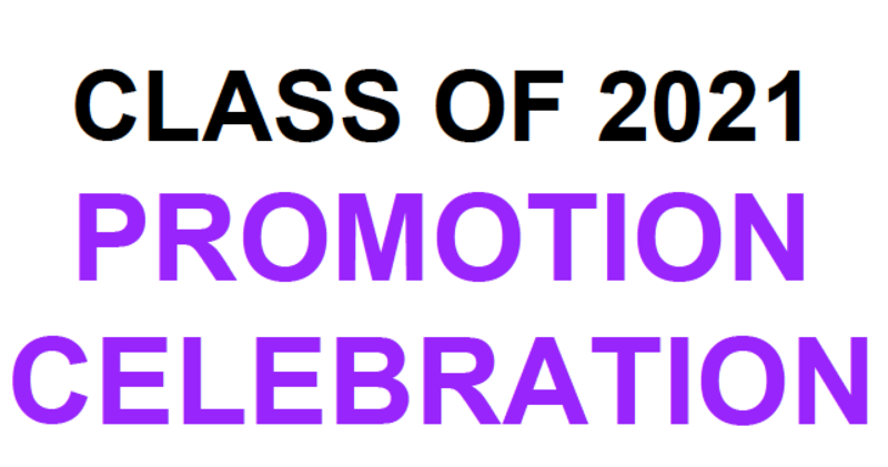 Class of 2021 Promotion Featured Photo