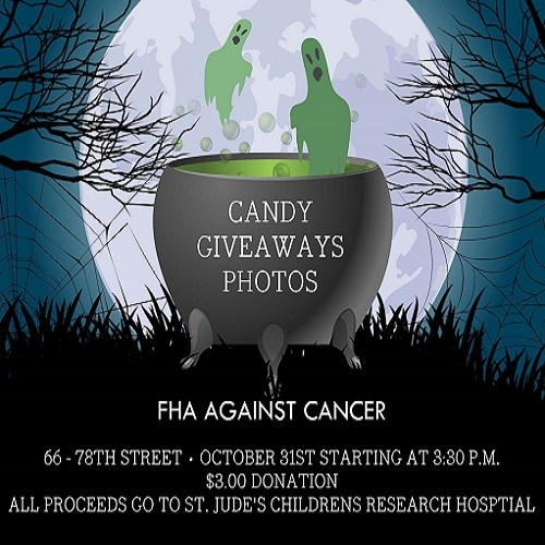 FHA AGAINST CANCER trick or treat fundraiser Thumbnail Image