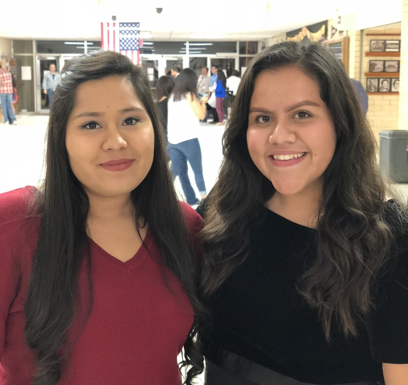 Pictured are Isla and her teacher Ms. Crystal Ruiz.