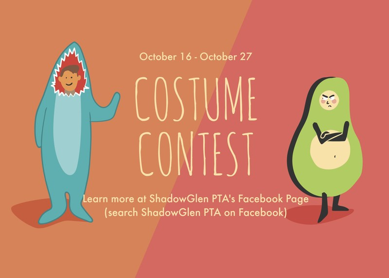 ShadowGlen PTA: Facebook Costume Challenge! Thumbnail Image
