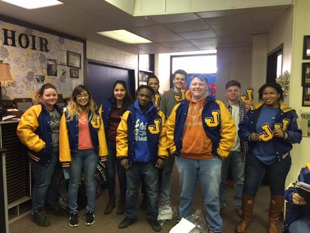 3rd Period letter Jackets