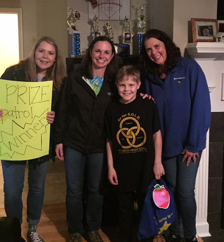 Prize Patrol surprises a Wood family