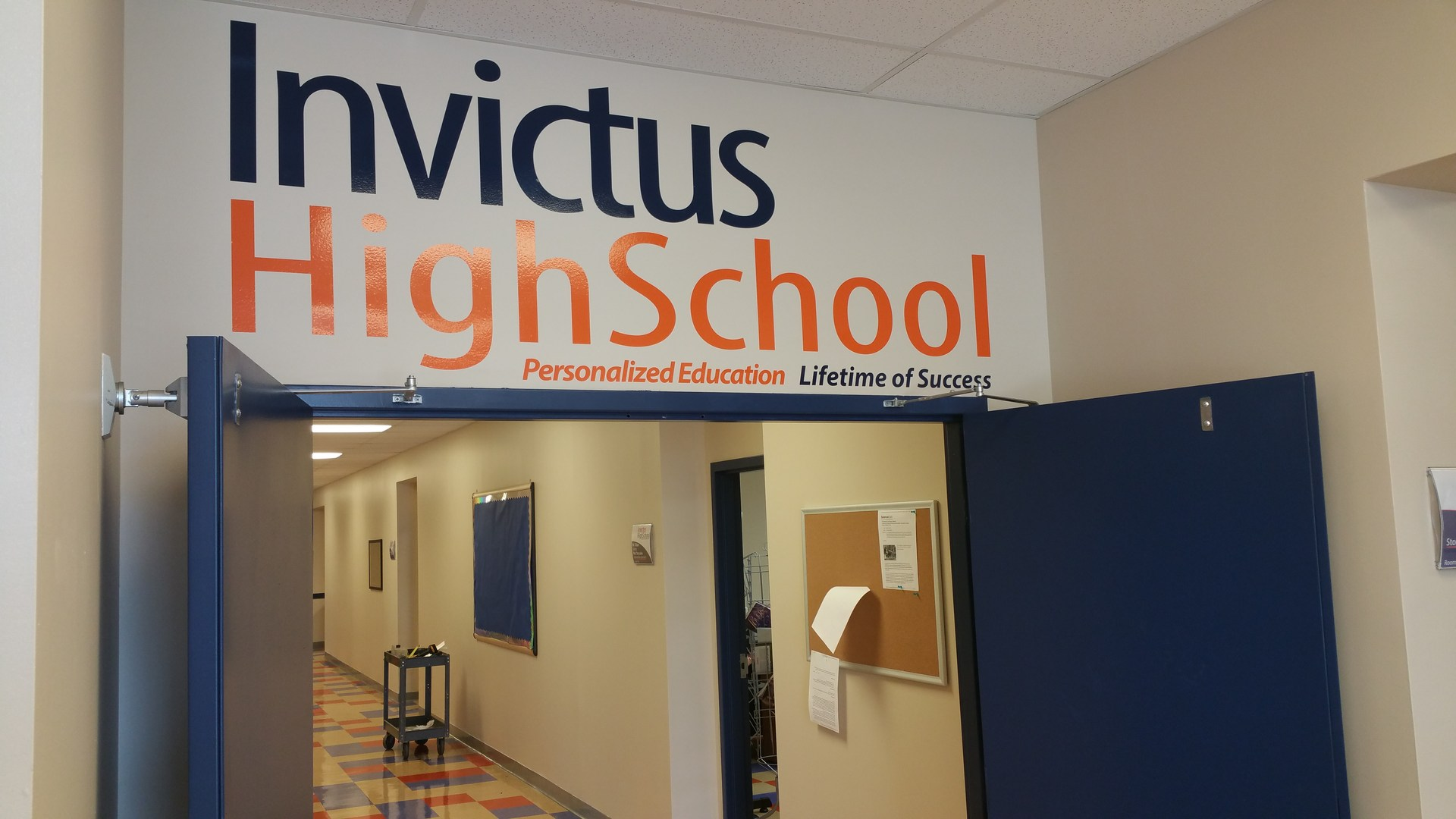 Doors are open at Invictus High School Cleveland