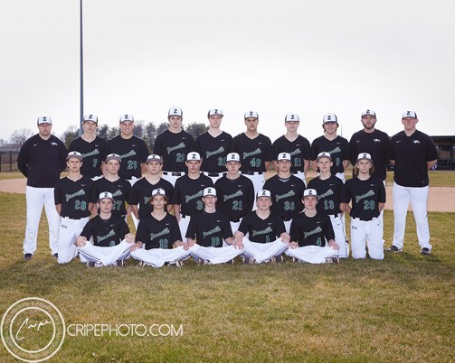 2018 JV Baseball team photo