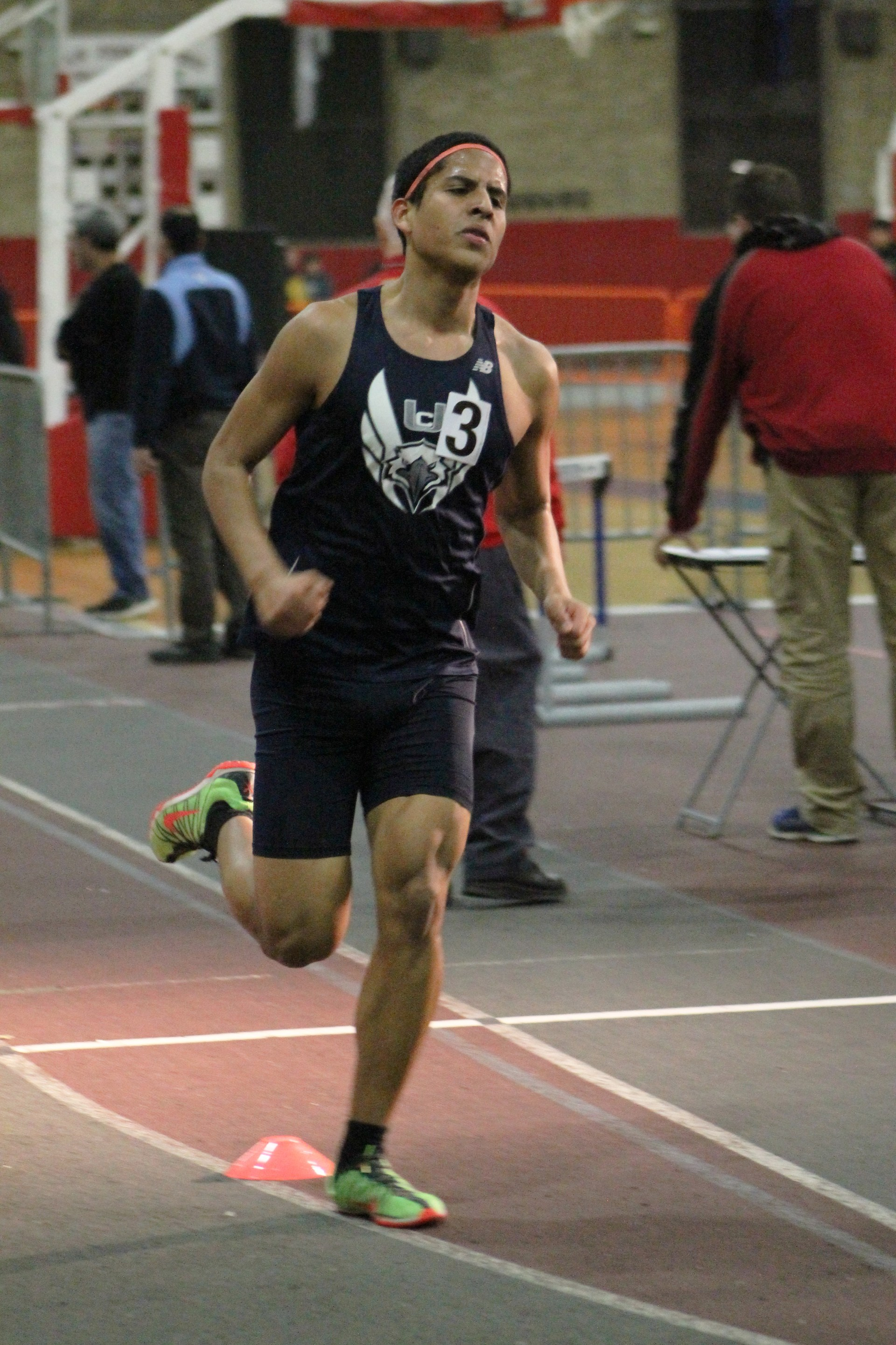 running in a meet